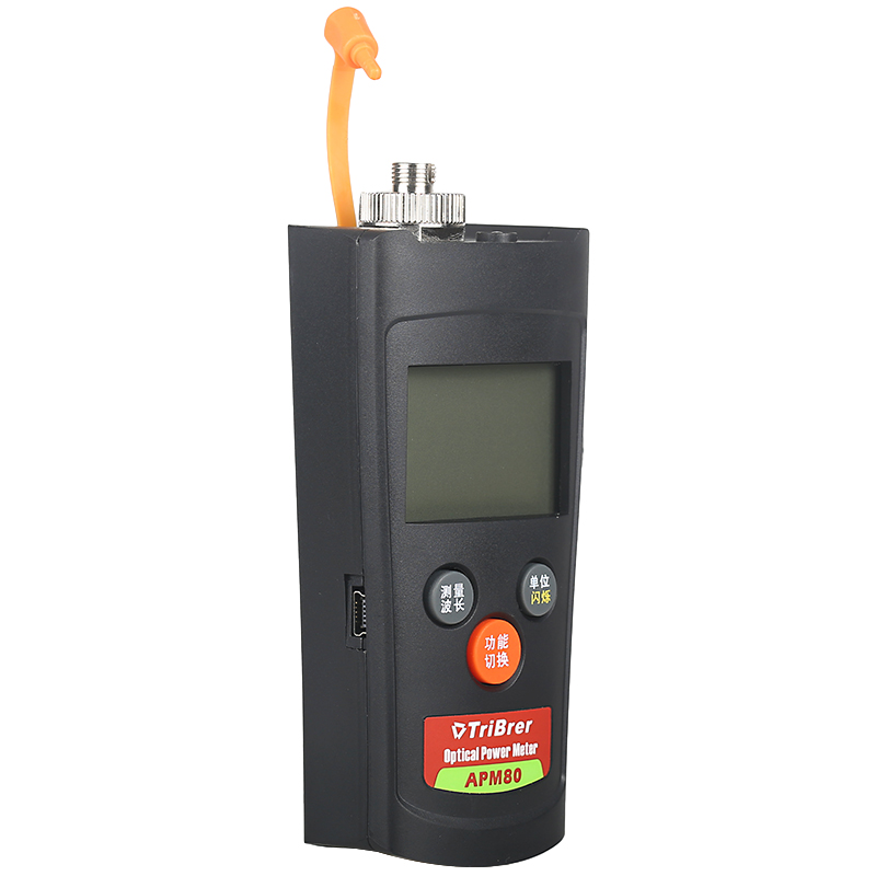 Mini Letter Metering Fiber Power Meter Optical Multimeter APM80C Light Decay Tester -50 To +26 Radio And TV Version
