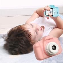 Цифровая мини камера 1080p с заряжаемым hd экраном Детская мультяшная