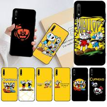 HPCHCJHM Cuphead TPU Soft Silicone Phone Case Cover for Huawei Honor 30 20 10 9 8 8x 8c v30 Lite view pro hpchcjhm caravaggio the soul and the blood phone case cover shell for huawei honor 30 20 10 9 8 8x 8c v30 lite view pro