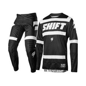 Clearnce SHIFT MX Motocross Gear Set MX Kits ATV Dirt Bike Jersey And Pant Supercross Enduro Jersey Set(China)