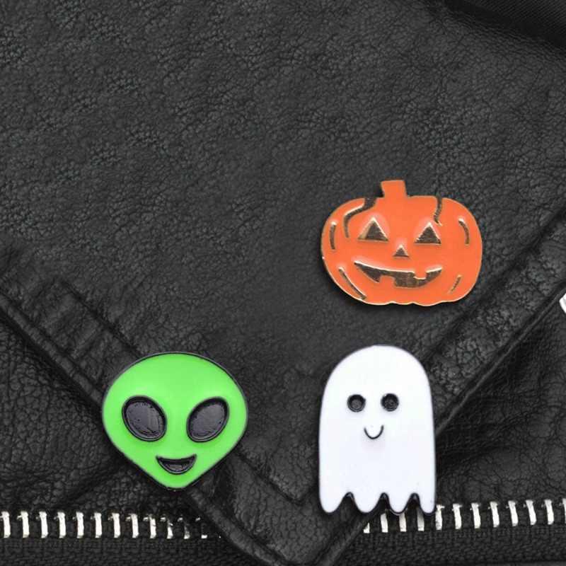 Delle Donne di modo Spilla Spilli di Halloween Festival Fantasma Strega Specter Zucca Spille Regalo Di Natale Di Halloween