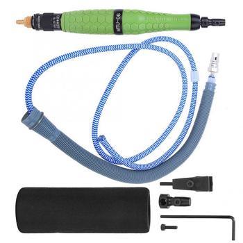 цена на 25000rpm Pneumatic File Ultrasonic Reciprocating Grinder Jade Craft Polishing Pen