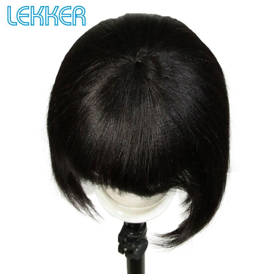 Lekker curto corte bob peruca mistura cor