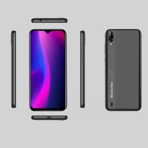 Image 5 - Blackview A60 Smartphone Quad Core Android 8.1 4080mAh Cellphone 1GB+16GB 6.1 inch 19.2:9 Screen Dual Camera 3G Mobile Phone