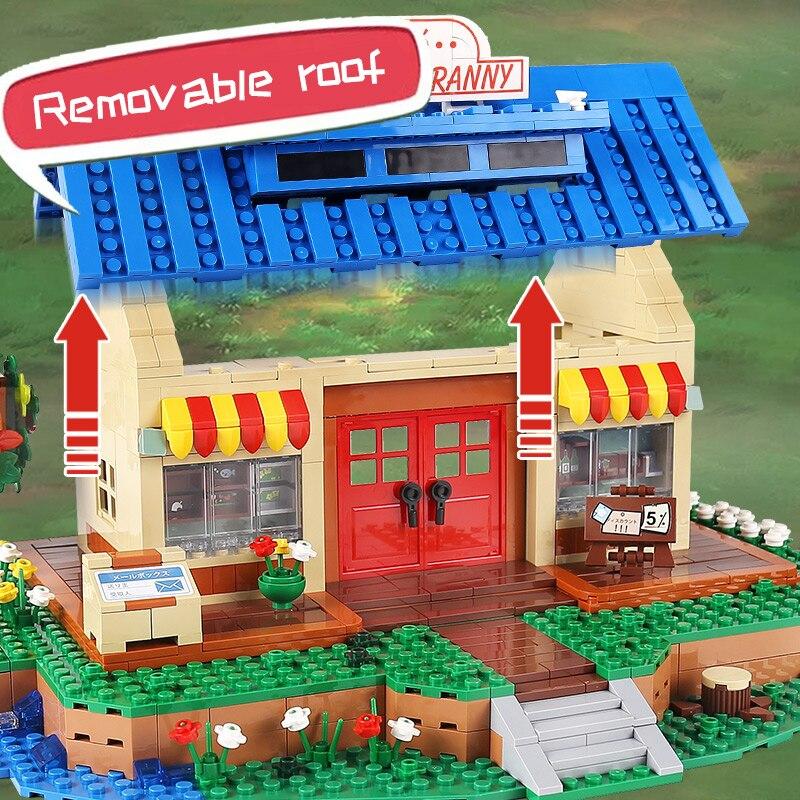 Yeshin K103 The Animal Crossing House Assembly Bricks