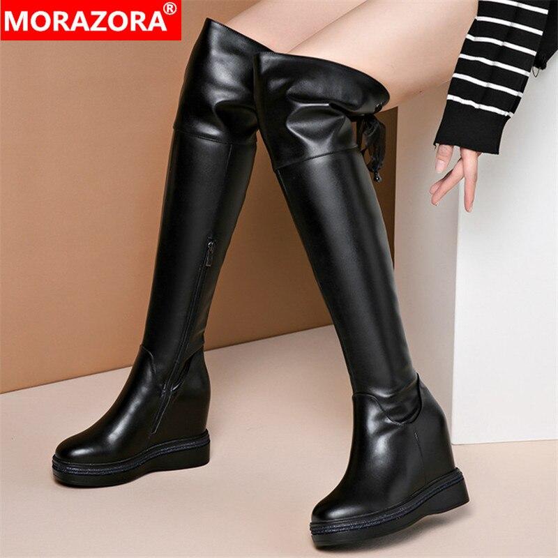 MORAZORA 2020 Hot Sale Women Thigh High