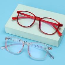 Occhiali con blocco della luce blu per bambini protezione degli occhi per bambini occhiali per Computer TR90 occhiali con montatura ultraleggera occhiali Anti blu Ray