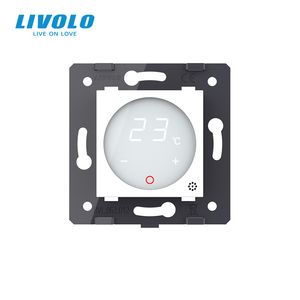 Image 3 - Livolo Thermostat  EU Standard  Temperature Control(without glass panel) , Heating device ,AC 110 250V,   C7 01TM 11
