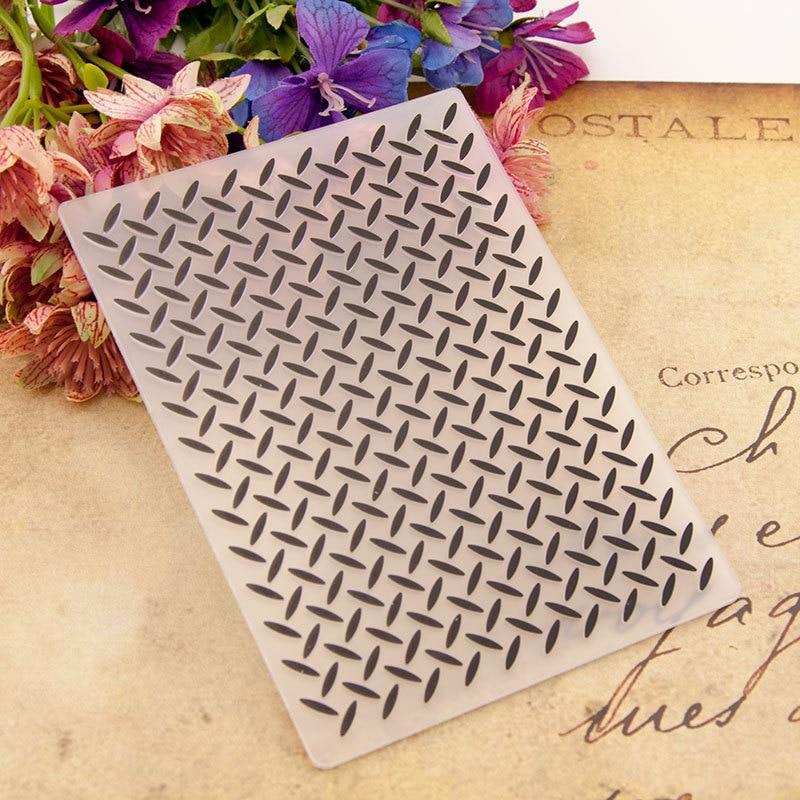 Geometric Background DIY Plastic Embossing Folders For DIY Scrapbooking Paper Craft/Card Making Decoration Supplies