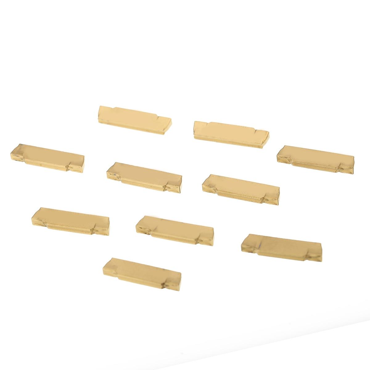 10 шт. MGMN200-G Карбид режущая вставка для MGEHR/MGIVR рифленые отрезные Карбид инструмент вставка токарный резак инструмент