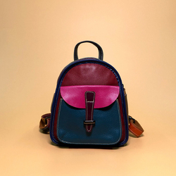 Sweet girl college style small woman backpack leisurely multi-color backpack random color female bag