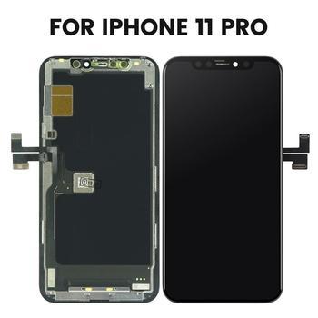الصف 100% الأصلي آيفون 11 برو ماكس شاشة الكريستال السائل شاشة محول الأرقام مع شاشة تعمل باللمس الجمعية آيفون 11 شاشة LCD