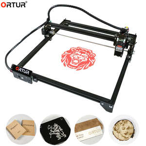 Orcur gravador a laser master 2 20w, micro gravador a laser, máquina de marcação, roteador, impressora para metal/madeira dura/plásticos/em papel