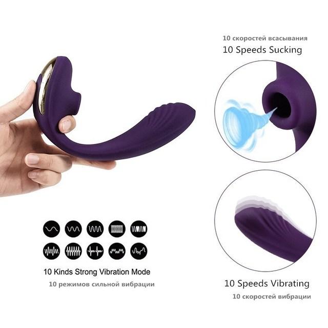 Vagina Sucking Vibrator