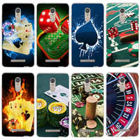 Casino Card Games Phone Cases Soft TPU Silicone for Xiaomi Redmi Note 2 3 4 4X 6 7 7A Y3 K20 Pro Plus Prime Coque Bags