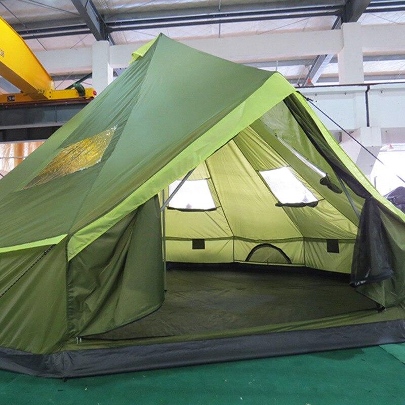 LAPUTA Ultra 8-12 Personen Wasserdicht Camping Party Familie Zelt Namiot Carpas De Camping Party Zelt