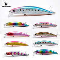 30g minnow jerkbait fishing lure wobblers rattle sound shallow diving crankbait fake bait for fishing