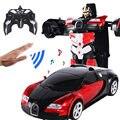 RC Induktion Transformation Roboter Auto 1:12 Induktion Verformung Roboter Spielzeug Auto Elektrische Roboter Modell für Kinder Jungen Geschenke-in RC-Autos aus Spielzeug und Hobbys bei