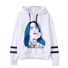 Billie Eilish funny hip hop Sweatshirt Graphic hoodie SF