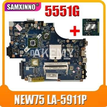 Akemy para Acer aspire 5551G 5552G placa base de computadora portátil DDR3...