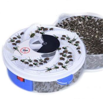 Electric Effective Fly Trap USB Automatic Flycatcher Pest Device  Insect Catching Artifacts Control Catcher Flying Fly Killer