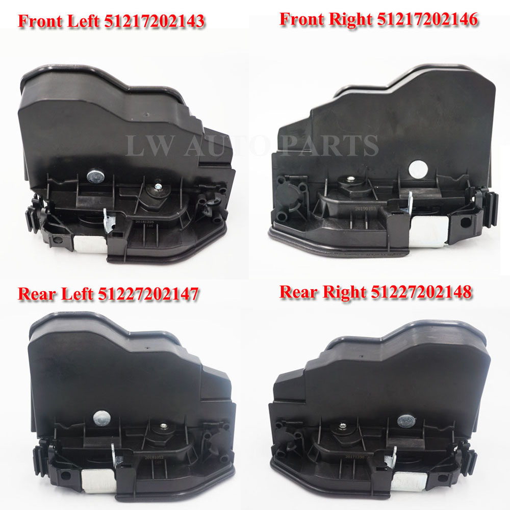 Front Rear Left Right Electric Door Lock Latch Actuator For BMW X6 E60 E70 E90 51217202143 51217202146 51227202147 51227202148