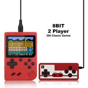 Image 2 - 800 IN 1 레트로 비디오 게임 콘솔 휴대용 게임 휴대용 포켓 게임 콘솔 어린이를위한 미니 핸드 헬드 플레이어 선물