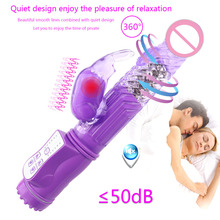 360 Rotating Dildo G Spot Vibrator Sex Toys for Adults Woman Clitoris Stimulator Rabbit Vibrator for Women Erotic Intimate Goods цена