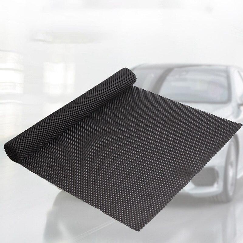 150 50CM Multipurpose Car Non-Slip Mat Black Anti Slip Mat Auto Trunk PVC Mat