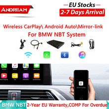 Andream WIFI Drahtlose Apple Carplay box Android Auto Für BMW NBT System 1 2 3 4 5 7 serie X3 x4 X5 X6 MINI F10 F15 F16 F30 F48(China)