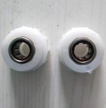 2 pces vileda pedal vassoura rotação mop peça de substituição uma maneira embreagem rolamento