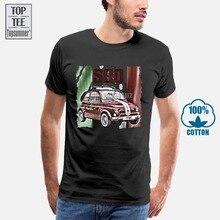 Tshirt Oversized Classic Fiat 500 Cotton Men for Women Cool New-Arrival White Anime