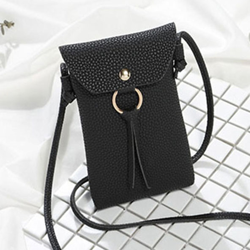 Women PU Leather Small Crossbody Purses For Girls Messenger Bag Mini Phone Bags Ladies Messenger Purse Handbags