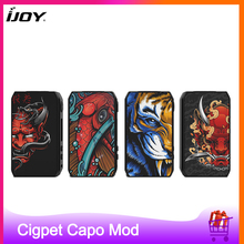 Original IJOY Cigpet Capo 126w E Cigarette Box MOD powered by dual 18650 batteries ecig vape mod VS drag 2/Dovpo m vv