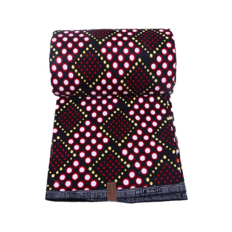 New Designs High Quality 2019 Red Color Dutch Wax African Wax Dutch For Women Dress