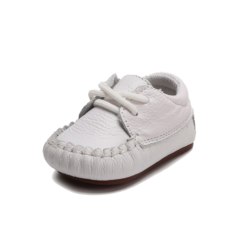 0-6-12 Months Soft Sole Newborn Shoes Infant Baby Shoes Toddler First Walkers Genuine Leather Boots Baby Moccasins