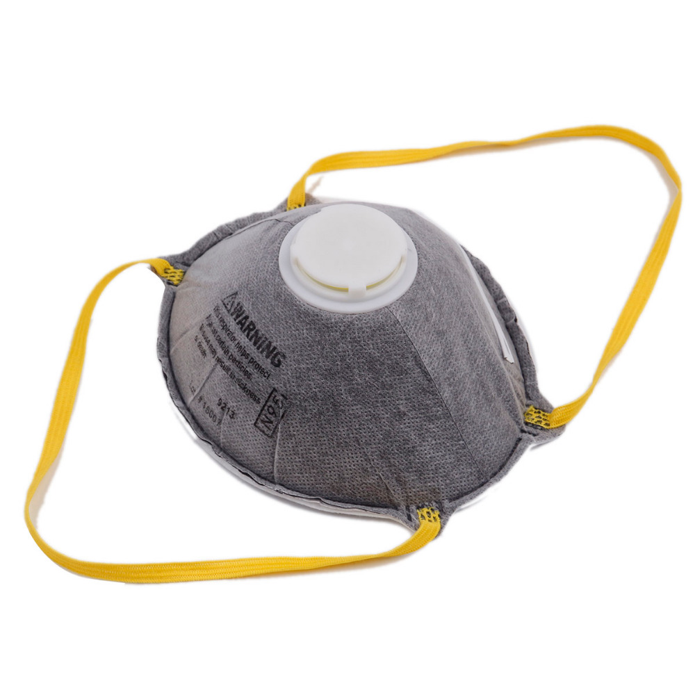 Non-woven Dust Protective Mask Activated Carbon Collapsible Charcoal Particulate Filter Respirator Breathable Face Mask Workplac
