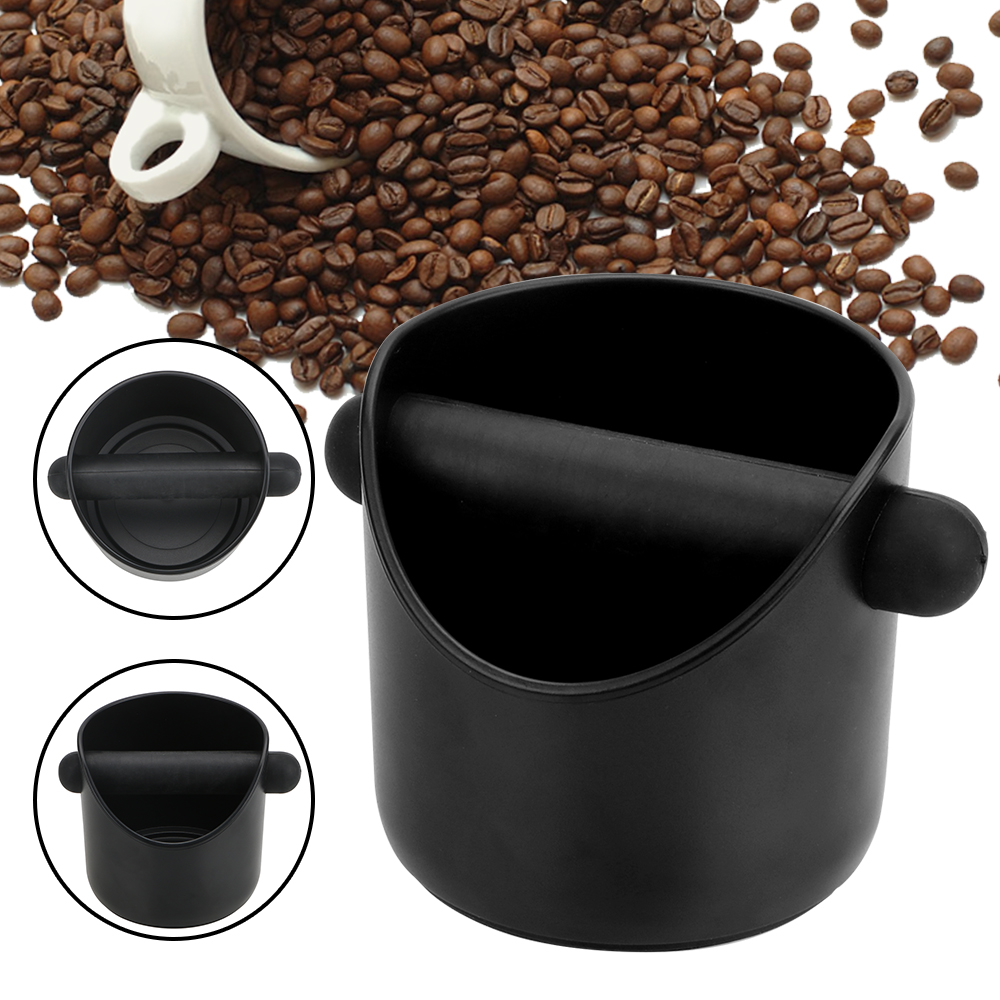 Espresso Grounds Container Cafe Accessories Household Coffee Tools  Coffee Grind Knock Box  Anti Slip Coffee Grind Dump Bin