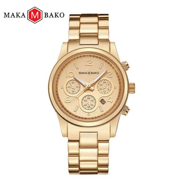 Fashion Casual Waterproof Rose Gold Watches Quartz Calendar 2019 Classic Women Top Brand Luxury Laides Dress Business Wristwatch