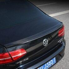 Car-styling Carbon fiber Rear Trunk Spoiler Wing Fit For Volkswagen VW Passat B8 2017 - 2018