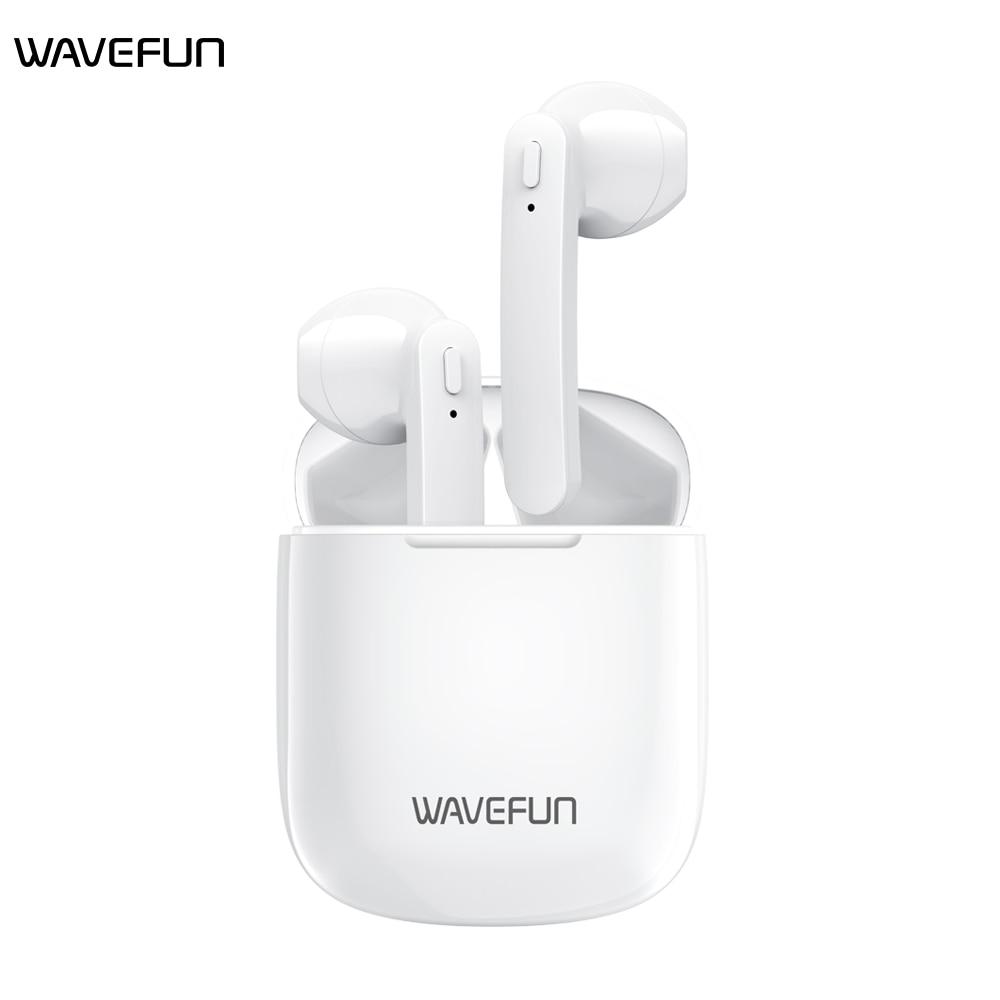 Wavefun V Open Charing case Automatic Pairing  Bluetooth Earphone Wireless Headphone IPX5 Waterproof Headset Earbuds with Mic Bluetooth Earphones & Headphones    - AliExpress