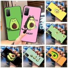 KPUSAGRT cute avocado Phone Case for Huawei Honor 30 20 10 9 8 8x 8c v30 Lite view 7A pro(China)
