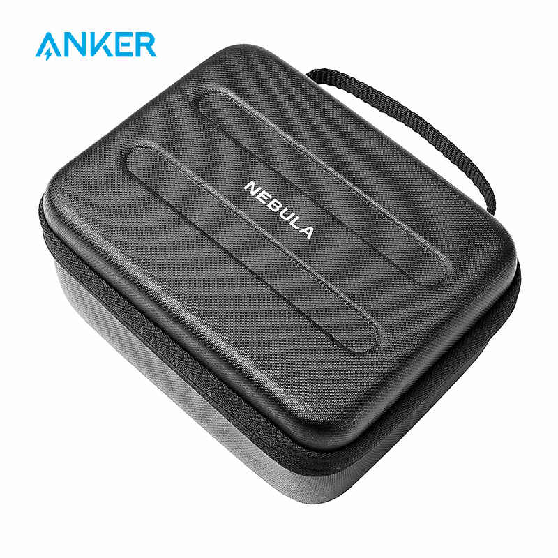 Nebula Capsule Official Travel Case for Capsule Pocket Projector, Polyurethane Leather, Splash-Resistance Premium Protection image