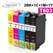 Xp-2105-Printer 603 Xl XP-3105 Compatible T603 Epson for Xp-3100/Wf-2810/Xp-3105/.. 5PK