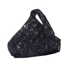 Women's Triangle Purse Clutch Evening Bags Bridal Wedding Party Prom Handbags L9BE