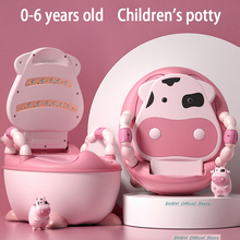 Potty Toilets Training-Seat Children's-Pot Boys And Comfy Gift--Free-Cleaning-Brush Ergonomic-Design