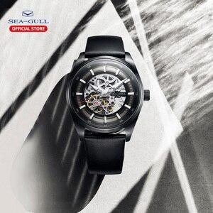 Image 5 - Seagull zegarek męski biznes Hollow Luminous wodoodporny automatyczny zegarek mechaniczny zegarek męski mechanik 819.92.6076H