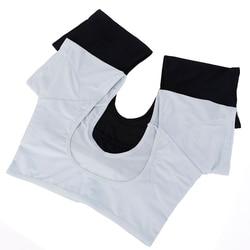 1 PcPerfume Absorbing T-shirt Shape Sweat Pads Reusable Washable Underarm Armpit Sweat Pads