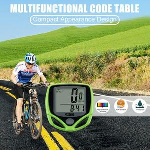 1 Kit Bicycle Code Table Mountain Bike Speed Measuring Bike Equipment Waterproof Power by Durable button battery