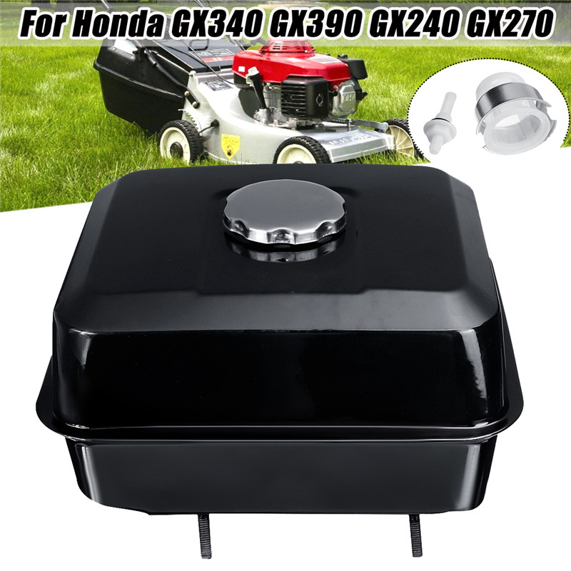Tools : Fuel Gas Petrol Tank With Cap Strainer Filter For Honda GX340 GX390 GX240 GX270
